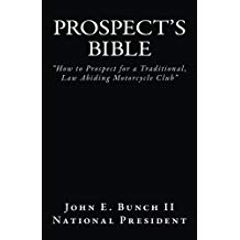 "Prospect's Bible ""How to Join a Traditional MC"" Available on Amazon and Kindle"
