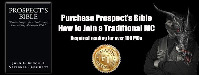 Purchase the Prospect's Bible written by John E. 'Black Dragon' Bunch II