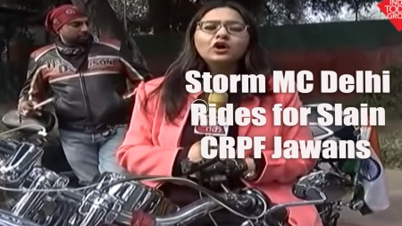 Storm MC Delhi rides for Slain CRPF Jawans