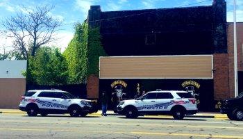 Man found dead inside Detroit Gentlemen's MC club house.