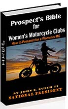 How to join a women's motorcycle club