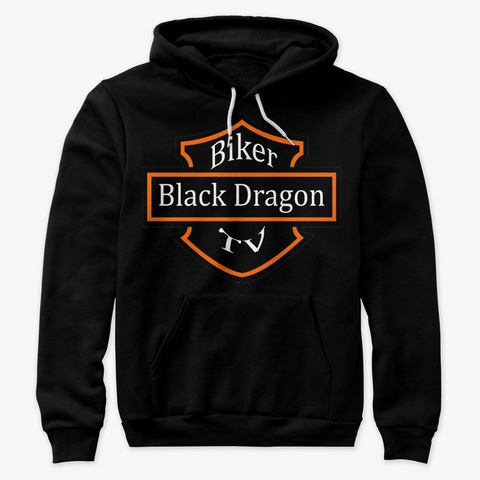 Buy the Support Black Dragon Biker TV Hoodie