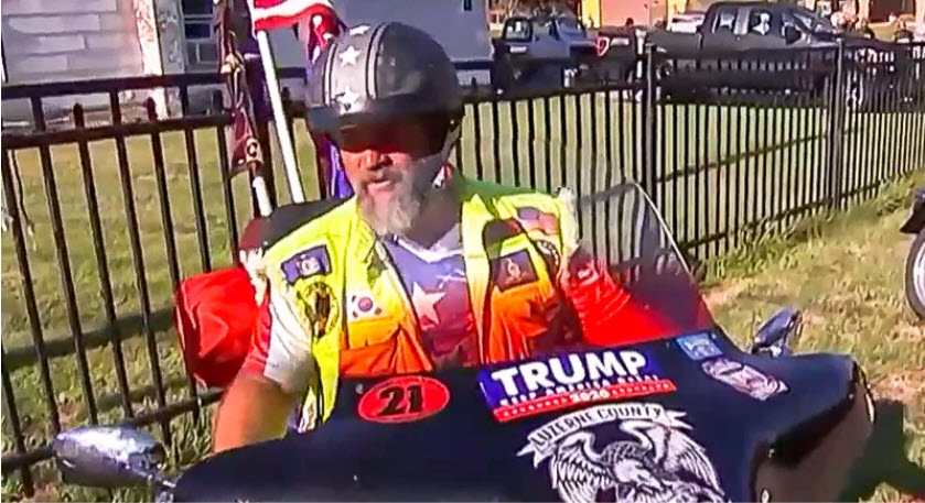 Trump supporter says he'll take up arms of Trump loses 2020 election.